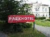 Parkhotel Nový Bor - advertising sign